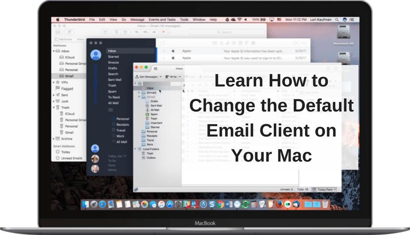 So ändern Sie den Standard-E-Mail-Client auf Ihrem Mac