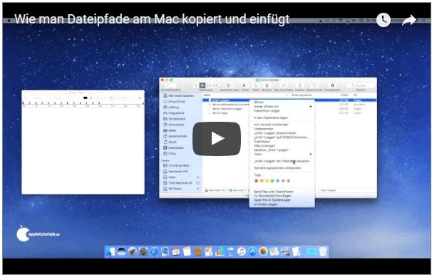 Video: Dateipfad am Mac auslesen und kopieren
