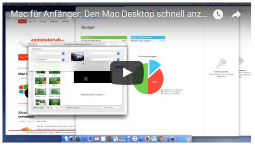 Wie man sich den Mac Desktop schnell anzeigen lässt